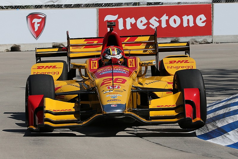 Hunter Reay I Was Getting Every Last Bit Out Of The Car