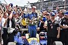Росси одержал сенсационную победу в сотой Indy 500
