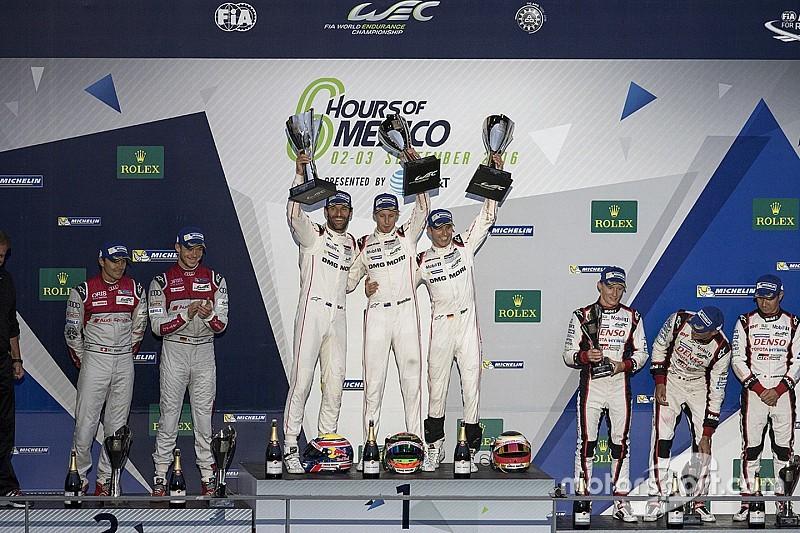 Porsche completa el triunfo en la Ciudad de México