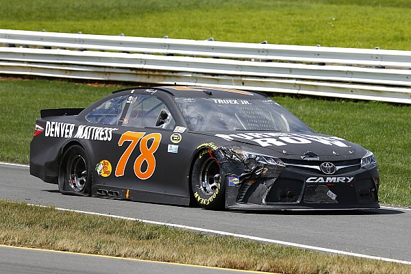 Previous victory eases Truex's pain at Pocono