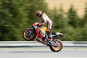 MotoGP Репортаж з гонки Гран Прі Чехії: Маркес виграв, Honda здобула дубль