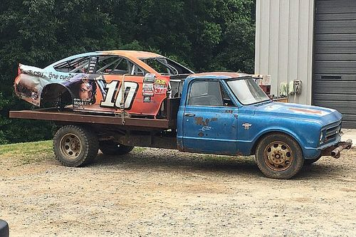 Touring Dale Earnhardt Jr.'s car graveyard - video