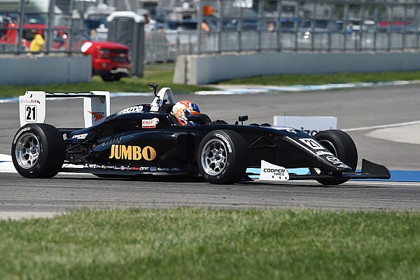 USF2000 Road America USF2000: VeeKay conquers as Askew fades