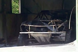 Dakar Breaking news Peter Brock's Dakar car destroyed in fire