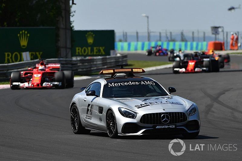 Safety car F1 tanpa pengemudi?