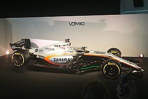 Force India ontsluiert Formule 1-bolide voor 2017 op Silverstone