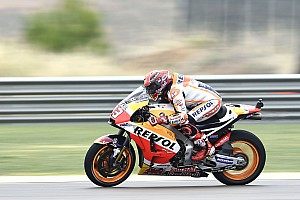 Márquez lideró la FP3 y Rossi pasó a la Q2