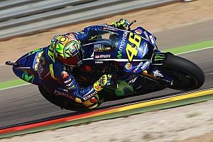La première ligne, une surprise pour Rossi