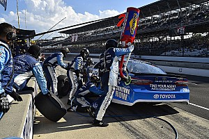 JGR suspends two of Truex's pit crew members for altercation