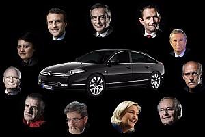 Auto Actualités Les voitures des candidats à la présidentielle 2017