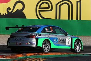Dionisio e Barri con l'Audi di BF nel TCR DSG Endurance