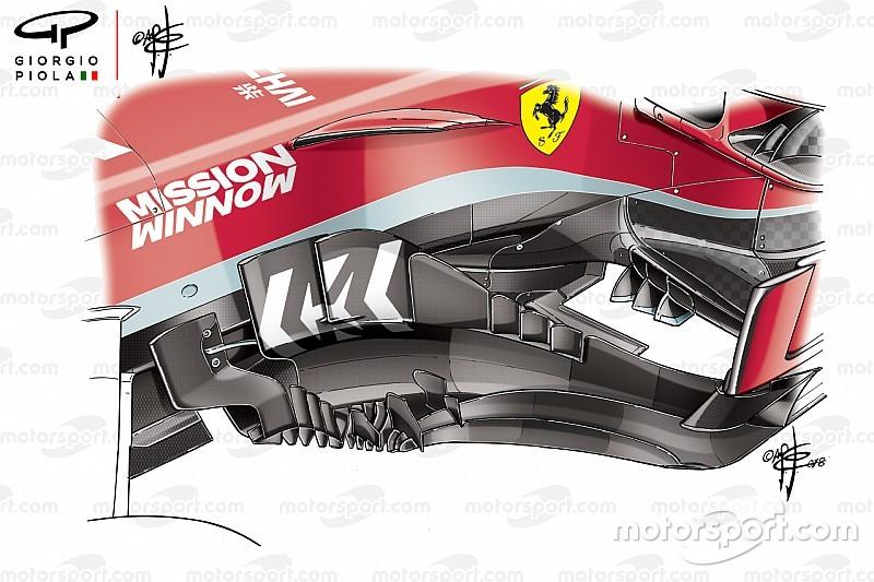 Технический анализ: что было не так с обновлениями Ferrari, и как команда это исправила