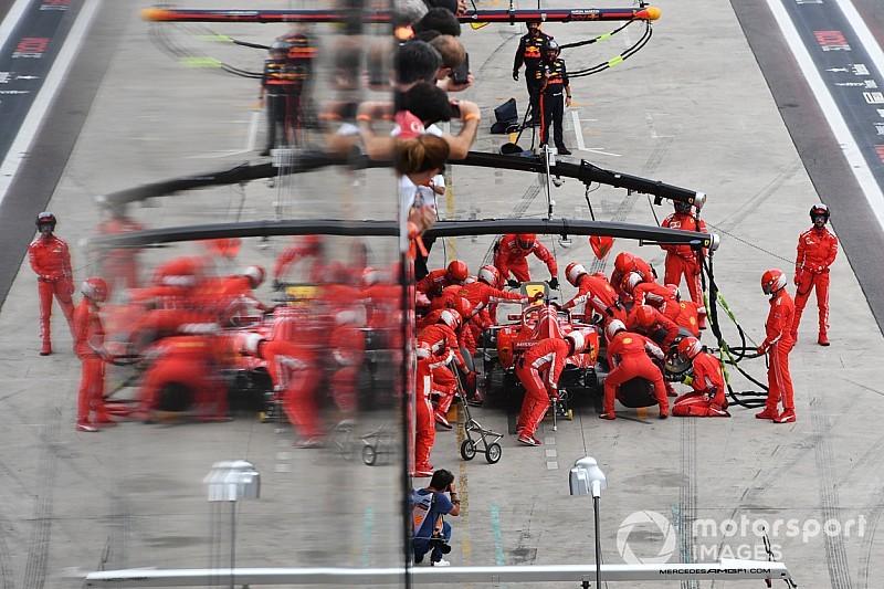 A Ferrari egészen lenyűgöző kerékcseréje a Brazil Nagydíjról: taroltak az olaszok a bokszban