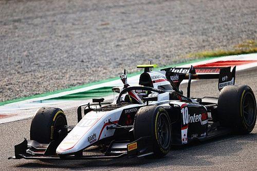 F2 Monza: Pourchaire gana su segunda carrera en competencia dramática