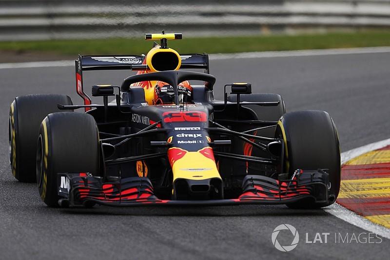 Verstappen'in de yakıtı bitmiş