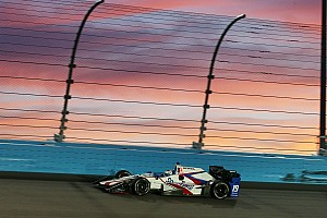 """IndyCar Breaking news Luca Filippi """"totally positive"""" about ovals"""