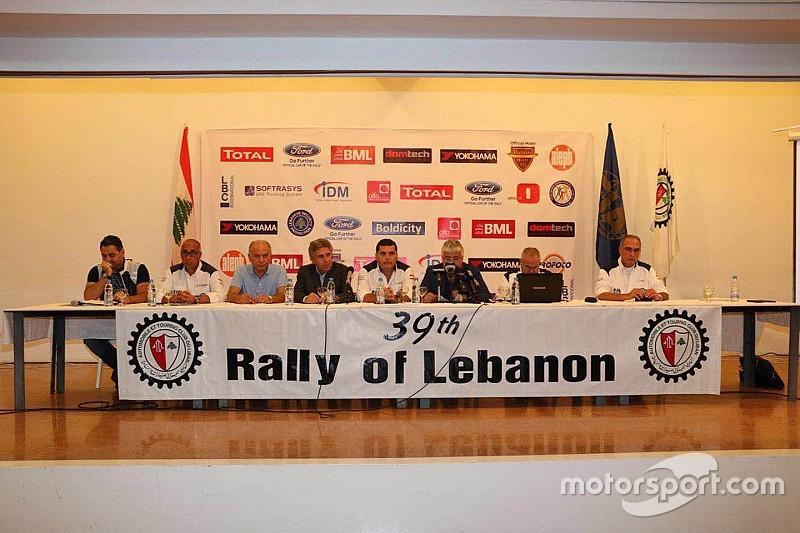 الإعلان رسمياً عن النسخة الـ39 من رالي لبنان الدولي