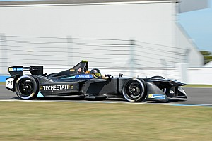 Formula E Testing report Vergne lowers lap record on penultimate Formula E test day
