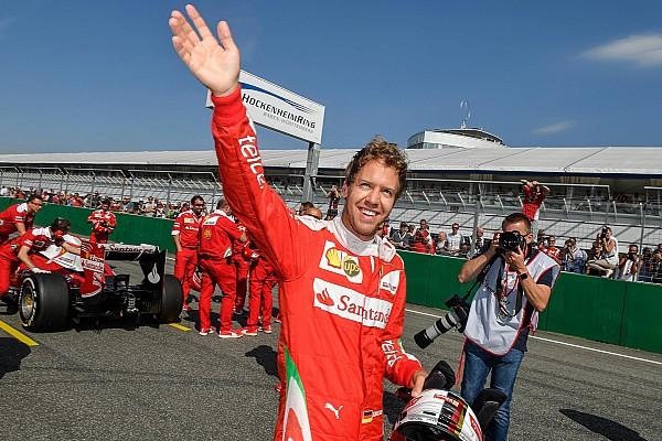 Ferrari Ferrari Racing Days Vettel delights fans in Hockenheim