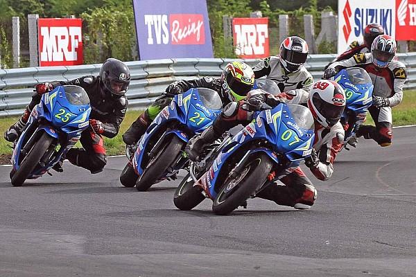 Other bike Chennai Suzuki Gixxer: Vidhuraj, Rajnikanth, Gladwin score wins