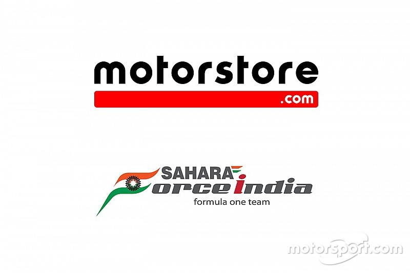 Motorstore.com and Sahara Force India Formalize e-commerce Partnership