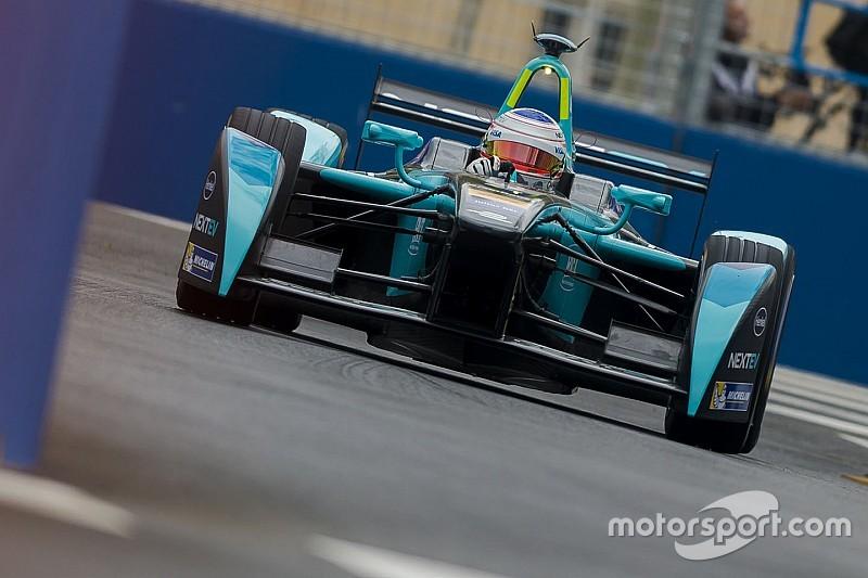 Berlin ePrix: Piquet tops FP2 as Buemi and Sarrazin crash