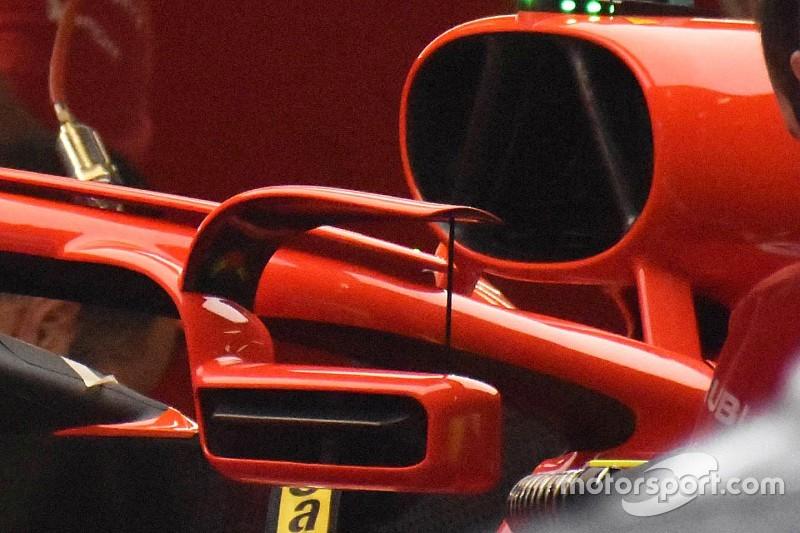 Ferrari probará los espejos en el Halo en España
