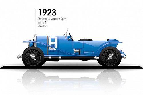 Galeria: todos los coches ganadores de las 24 horas de Le Mans