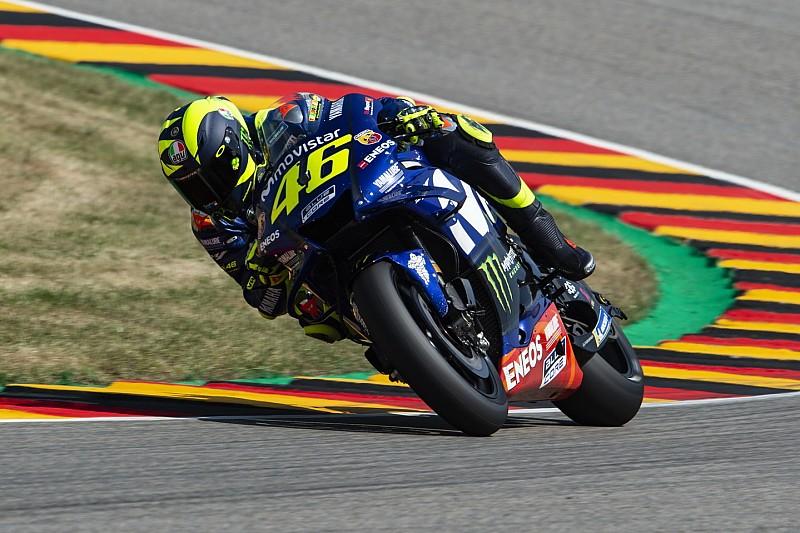 Valentino Rossi nach Platz zwei: