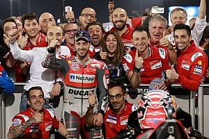 MotoGP Últimas notícias GALERIA: A emocionante abertura da MotoGP no Catar