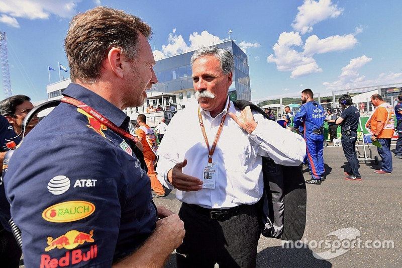 """Carey aims to sort 2021 F1 plans """"in the coming months"""""""