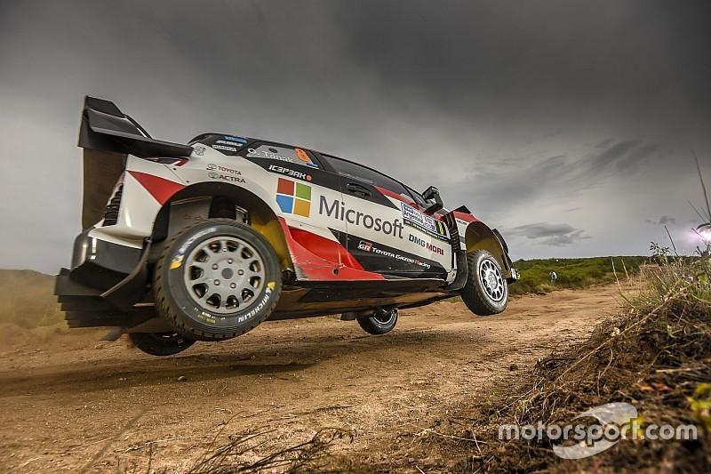 Tanak concluye el viernes como líder en el Rally Argentina