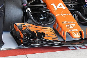 Подробности: чем так хорошо новое переднее крыло McLaren
