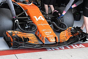 Komoly fejlesztéseket kapott Alonso McLarenje Austinban - csak az autó most sem bírta...