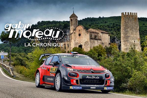 WRC Chronique Le tour du monde de Gabin Moreau: Espagne