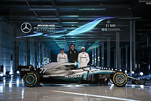 Fórmula 1 Noticias Mercedes presentó oficialmente su W09