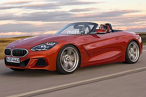 Automotive Breaking news BMW Z4 render clears the camo to reveal dead-sexy drop top