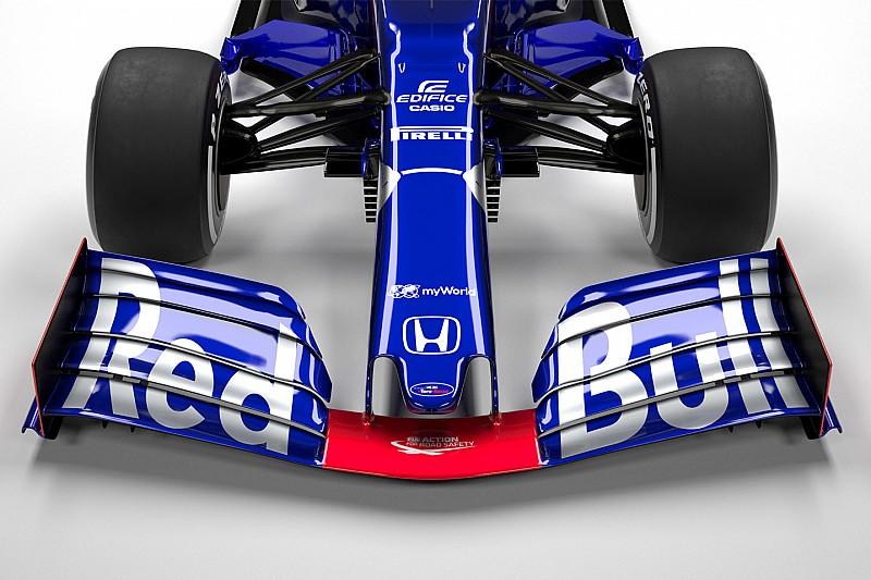 Gallery: Toro Rosso's new STR14 car