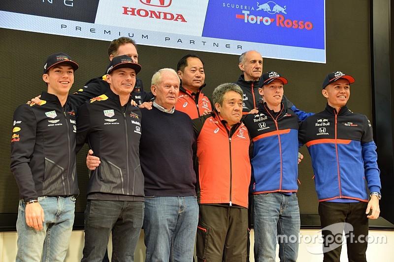 レッドブル&トロロッソが東京に集結。まもなく開幕のシーズンへ意気込み