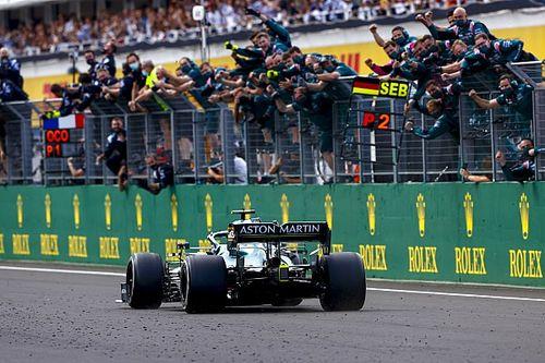 Aston Martin overweegt beroep tegen diskwalificatie Vettel