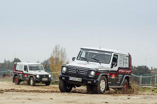 Mercedes y RUMBOZERO, con dos G 320 en el Dakar Classic 2021