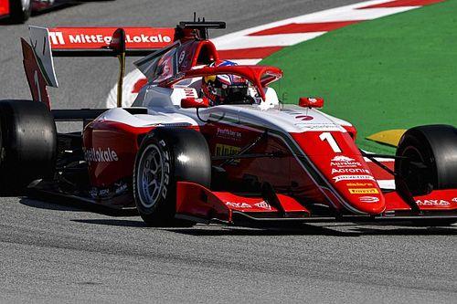 Судьбу квалификации Формулы 3 в Барселоне решили шесть тысячных секунды
