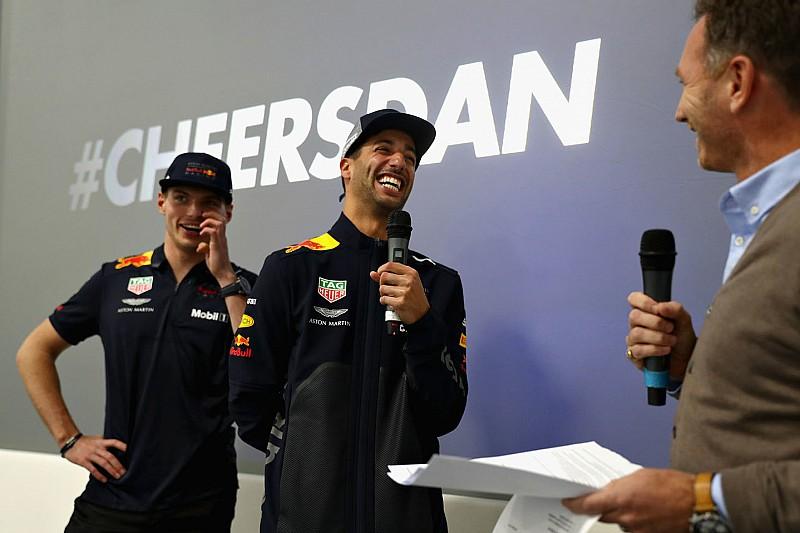 Il saluto di Ricciardo alla Red Bull: