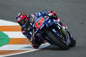 Vinales tops Day 1 of Valencia test, Lorenzo 18th