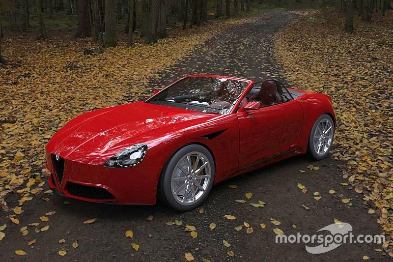 Concept: Zou jij deze Alfa Romeo Spider willen hebben?