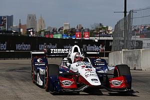 IndyCar Jelentés a versenyről IndyCar: Rahal rajt-cél győzelmét hozta az első detroiti futam