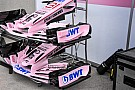 Force India: ala anteriore scarica e bargeboard svergolato