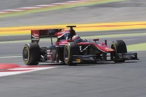 FIA F2 レースレポート 【F2】バルセロナレース1:松下信治4位入賞。ラスト2周で表彰台逃す