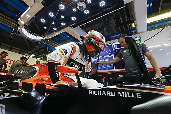 La columna de Vandoorne: 'McLaren puede ser el mejor del resto en Singapur'
