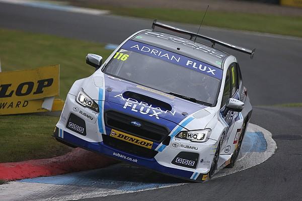 BTCC Knockhill BTCC: Sutton wins Race 2 as Subaru dominates